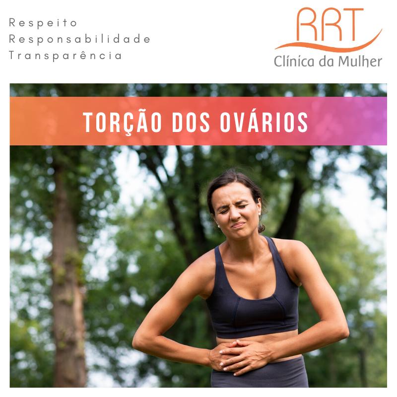 torção de ovário risco de vida e infertilidade