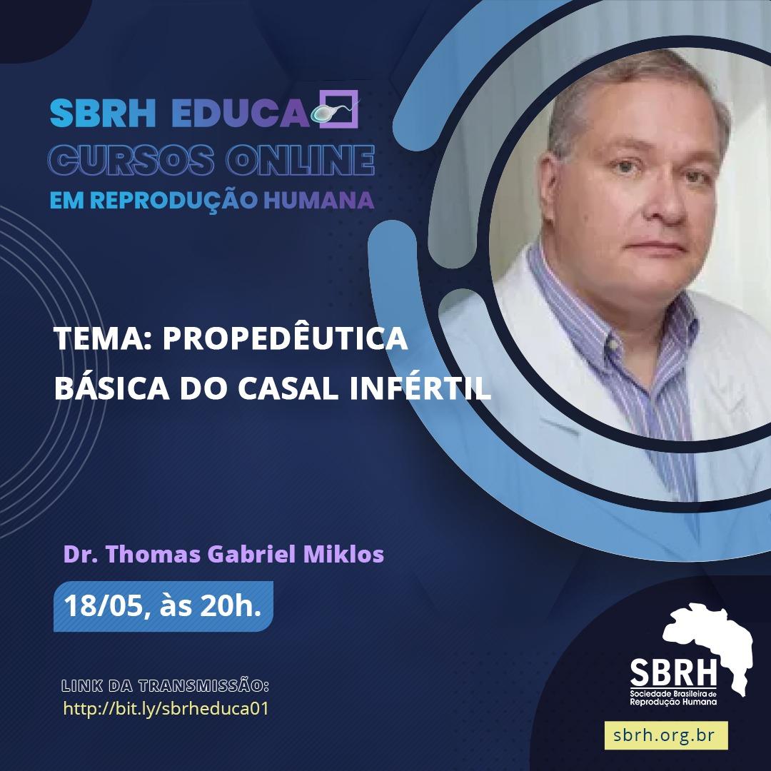 SBRH Educa Investigação do Casal Infértil