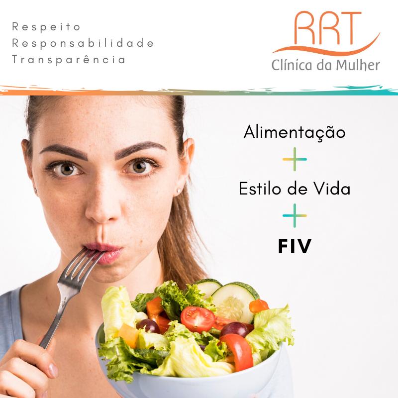 alimentação estilo de vida e fertilização in vitro